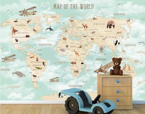 Карта мира любознательного