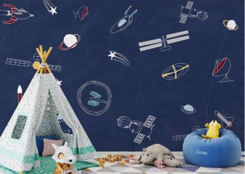 Космос в детскую комнату