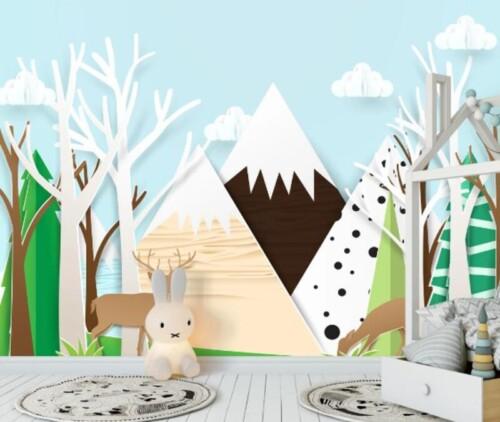 Олени в горах