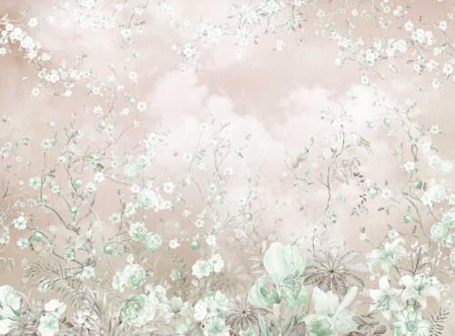 Пастельные тона цветущего сада