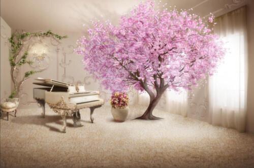 Сакура и рояль