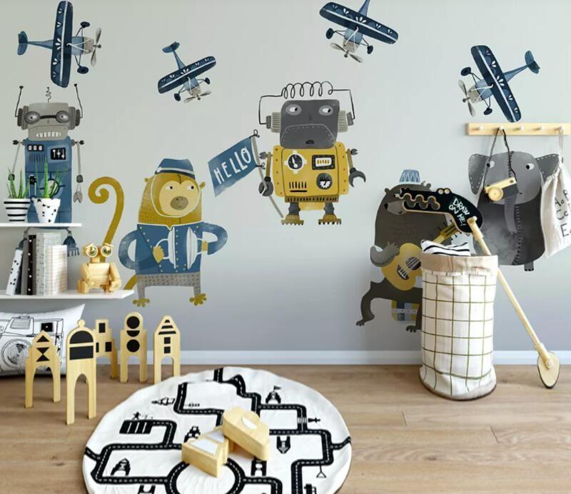 Самолеты и роботы