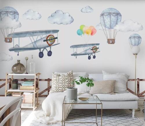 Самолеты и шары