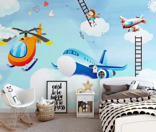 Самолеты в облаках