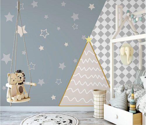Звезды ромбы и треугольник
